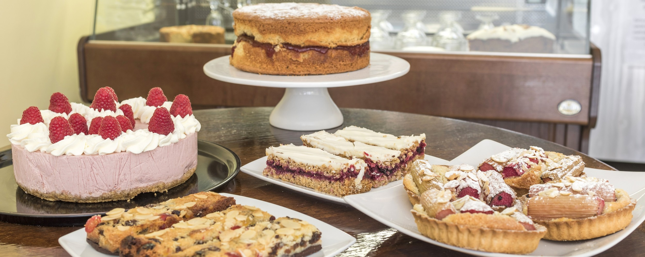 Celebration Cakes Kaf Fontana Coffee Shop And Cafe In Sherborne
