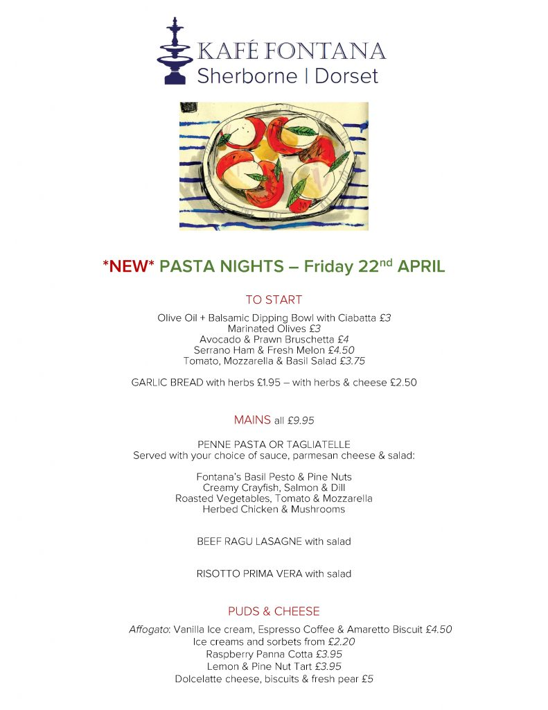 PASTA NIGHTS AT KAFE FONTANA (1)